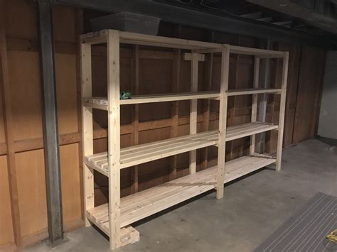 Diy Shelves Basement